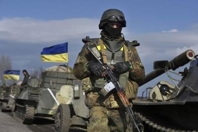 В Киеве заявили, что не планируют наступление на Донбасс