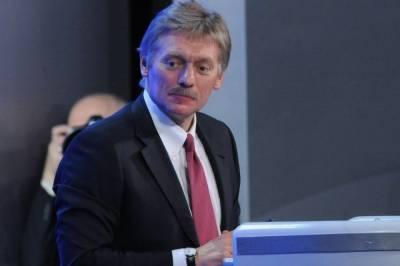Песков сообщил, что Украина не посылала запросов на переговоры с Путиным