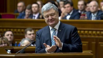 Рейтинг партии Порошенко на Украине за два года вырос вдвое