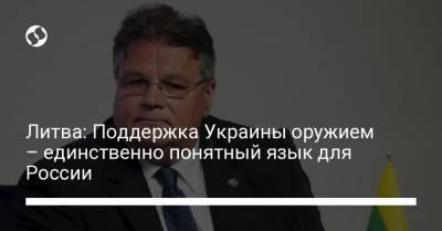 Литва: Поддержка Украины оружием – единственно понятный язык для России