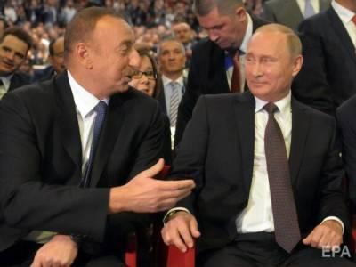 """Алиев заявил, что не получил от Путина ответа на вопрос о применении """"Искандеров"""" в Нагорном Карабахе"""