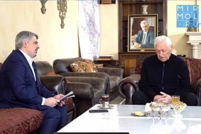 Магомедали Магомедов принял участие в авторском проекте «Век Дагестана» на телеканале «Россия 1»