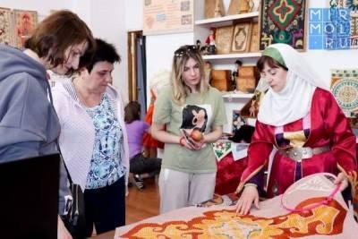 Кайтагский район посетили гости из регионов России и Таджикистана