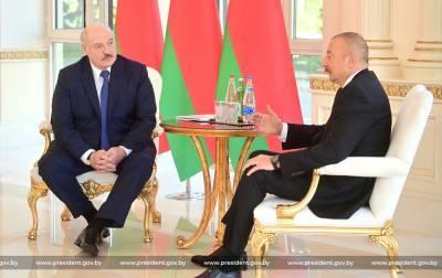 Лукашенко назвал «возвращенными» территории Нагорного Карабаха, перешедшие под контроль Баку