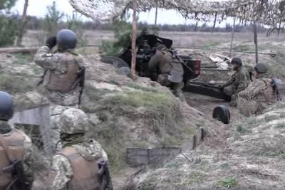Украина начала крупные учения рядом с границей Крыма