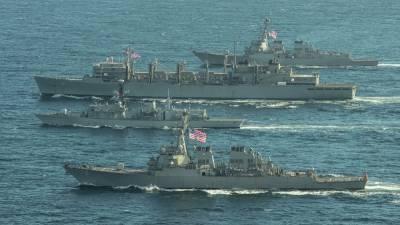 США объяснили, почему их корабли не вошли в Чёрное море — СМИ