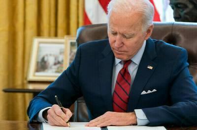 Байден подписал указ о возможности новых санкций против России «за вмешательство в выборы»