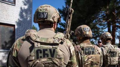 СБУ провела учения на границе с Крымом