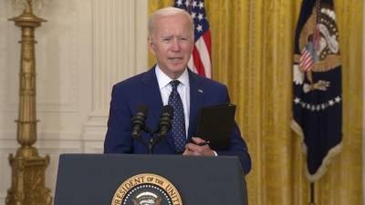 Джо Байден прокомментировал новые санкции США