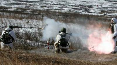 Военнослужащие ЮВО провели тактические учения в Крыму