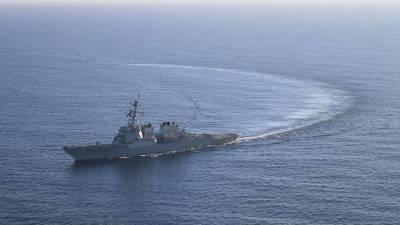 СМИ назвали причину отказа США отправлять два эсминца в Черное море