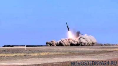 В Баку показали, как израильский «Барак-8» сбивает российский «Искандер» над Карабахом