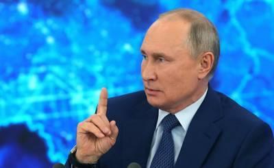 The Irish Sun (Ирландия): Владимир Путин мешает иностранным военным кораблям добраться до украинского очага напряженности после решения Джо Байдена отменить отправку американских кораблей в Черное море
