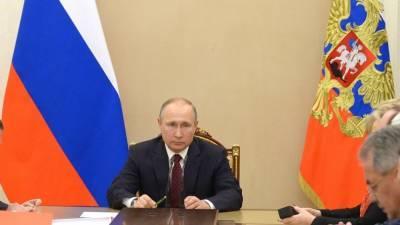 Путин и члены Совбеза обсудили ответные шаги на новые санкции США