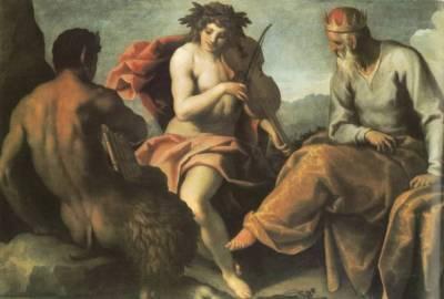 Марсий. За что пострадал невинный пастух?
