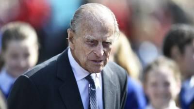 Церемония похорон принца Филиппа началась в Виндзорском замке