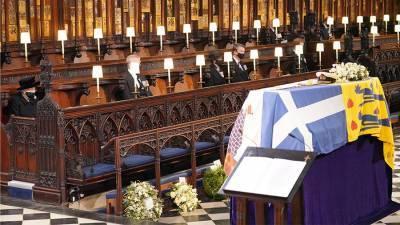 Во время отпевания принца Филиппа прозвучала молитва на русском языке