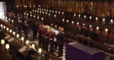 Похороны принца Филиппа: кто из королевской семьи пришел на церемонию прощания (видео)