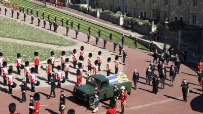 Русская молитва прозвучала на похоронах принца Филиппа