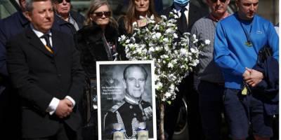 Похороны принца Филиппа пыталась сорвать полуголая женщина — видео