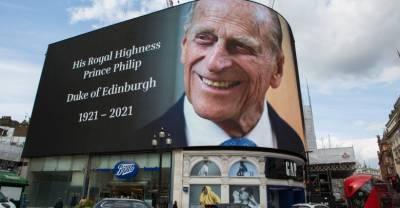 Похороны принца Филиппа посмотрели в два раза меньше зрителей, чем прощание с Леди Ди
