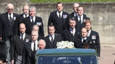 Трансляцию похорон принца Филиппа смотрели 13,6 млн человек