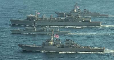 Эсминцы ВМС США вновь направляются к Черному морю (фото)