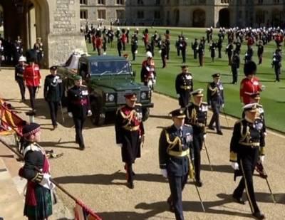 В Великобритании попрощались с принцем Филиппом. ФОТО