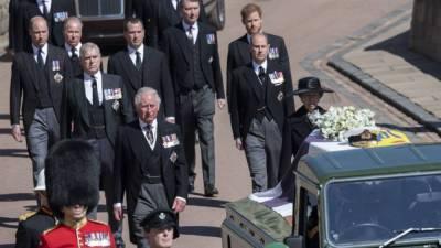 Похороны принца Филиппа смотрело больше людей, чем свадьбу принца Гарри и Меган Маркл