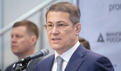 Доход Радия Хабирова за год снизился на 800 тысяч рублей