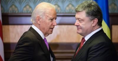 На Украине заказали экспертизу записи голосов Байдена и Порошенко