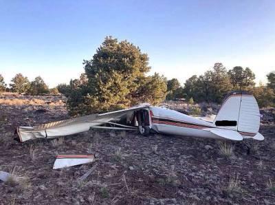 В американском штате Аризона разбился самолет