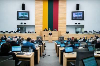 Литва призвала усилить санкции против России