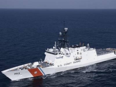 Патрульный катер США зашел в Черное море