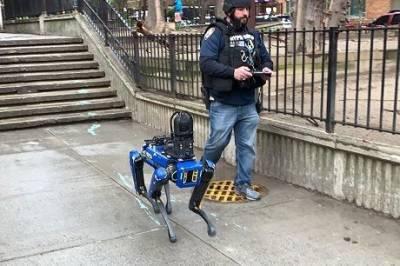 «Роботы против людей»: в США «уволили» робота-собаку из полиции