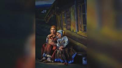 14-летняя петербургская художница сделала 3D-картину к Пасхе