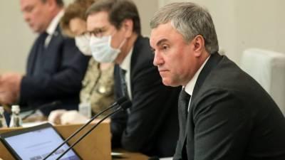 Володин требует исключить Украину из Совета Европы после смерти ребенка в Донбассе