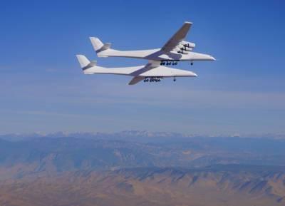 Cамый большой в мире самолёт по размаху крыла Stratolaunch Roc после 2-летнего перерыва совершил второй тестовый полёт
