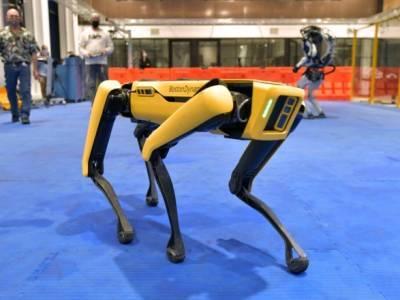 """Как в """"Черном зеркале"""": полиция Нью-Йорка """"уволила"""" робота-пса Boston Dynamics из-за антиутопических опасений"""