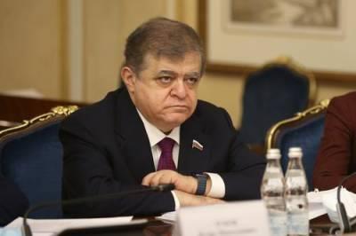 Сенатор Джабаров оценил мнение немецкого депутата о санкциях против России
