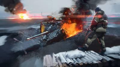 ВСУ открыли огонь по окрестностям Донецка из крупнокалиберного вооружения