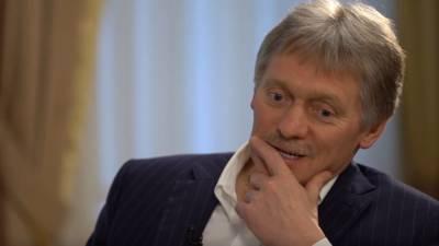 Песков: вступление Украины в НАТО только усугубит военный конфликт в Донбассе