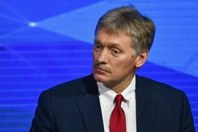 Песков заявил, что вступление Украины в НАТО только усугубит кризис в Донбассе