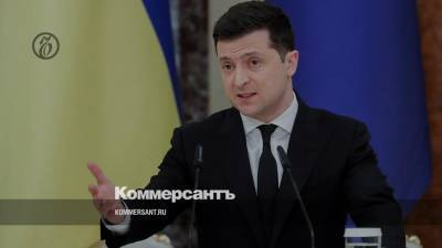 Зеленский: вступление Украины в НАТО — единственный способ закончить войну в Донбассе