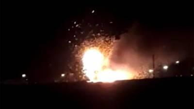 В Дагестане потушили загоревшийся на территории воинской части танк