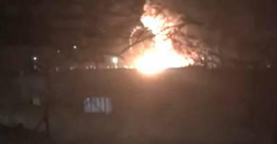 Танк загорелся на территории воинской части в Дагестане – видео