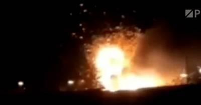 В военной части РФ у танка сдетонировал боекомплект (видео)