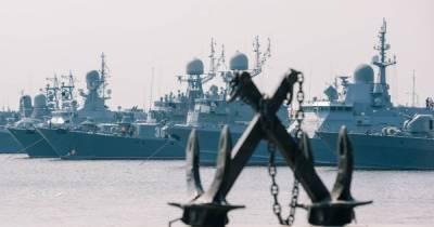 РФ перебрасывает корабли из Каспийского моря в Черное на фоне учений ВМС Украины