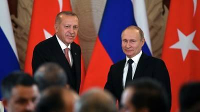 Накануне визита Зеленского Эрдоган поговорил с Путиным