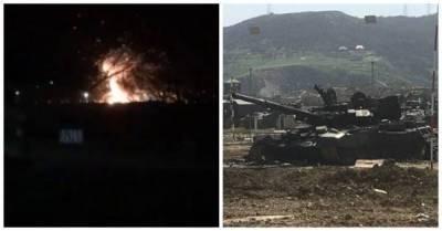 В воинской части Дагестана взорвался танк